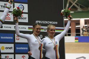 Miriam Welte und Emma Hinze mit WM-Bronze. Foto: BDR/Kont